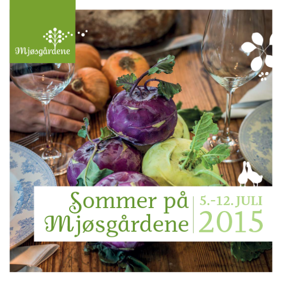 Sommer på Mjøsgårdene