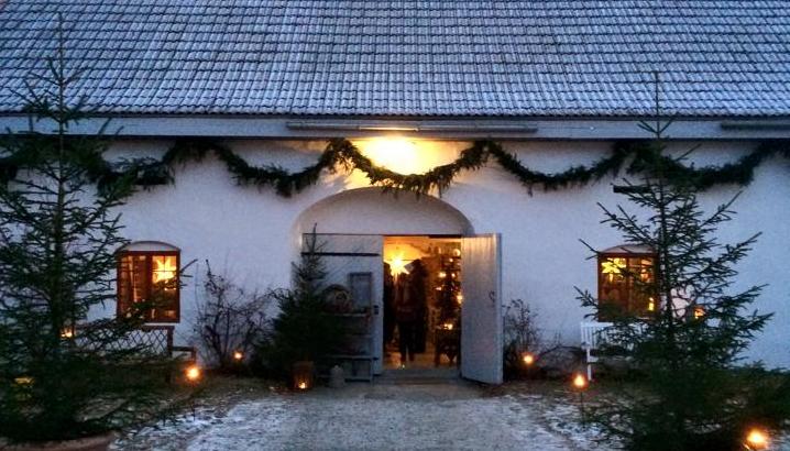 Jul på Hovinsholm