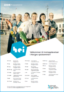 Norges spiskammer Hamarregionen arrangementer høsten 2016